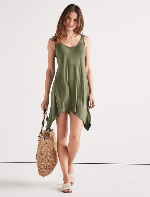 TAKE COVER SWING DRESS,