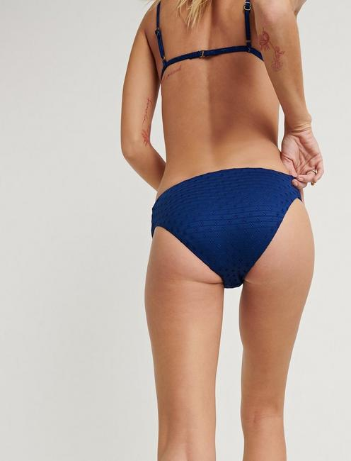 BELLE SIDE SASH HIPS, DARK BLUE