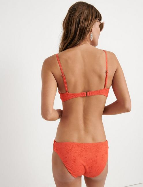 DOHENY BEACH BRALETTE, CORAL ORANGE