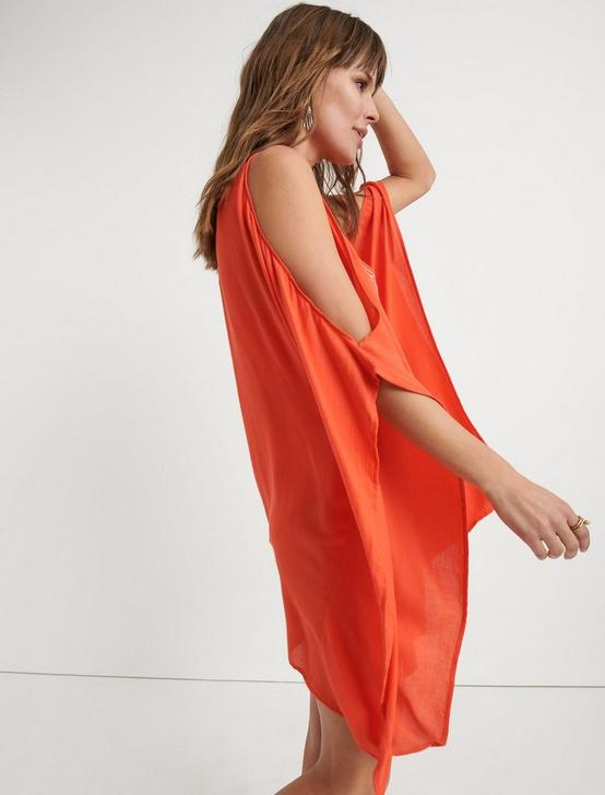 LA QUINTA TUNIC, CORAL ORANGE, productTileDesktop