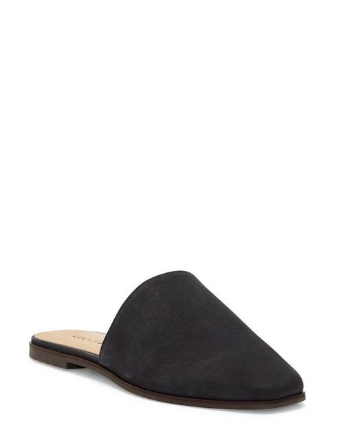ACASIA FLAT SLIDES, BLACK