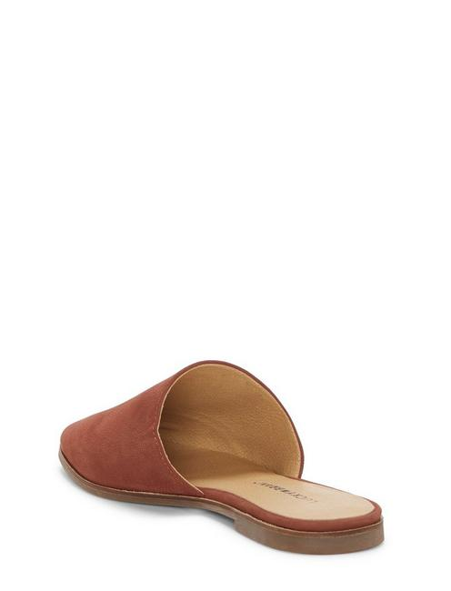 ACASIA FLAT SLIDES, DARK BROWN