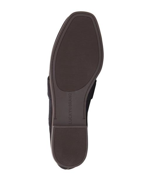 ADELHA LEATHER FLAT, FEATHER