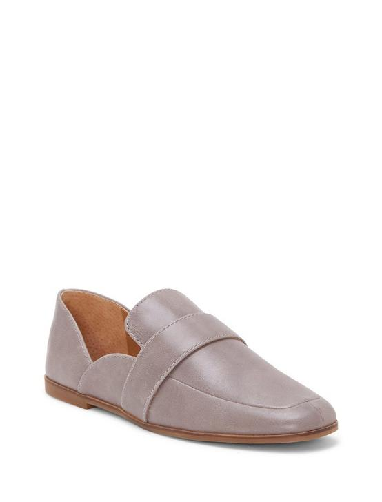 ADELHA LEATHER FLAT, LIGHT GREY, productTileDesktop