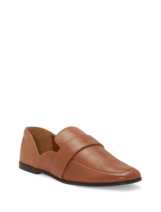 ADELHA LEATHER FLAT, DARK BROWN, productTileDesktop