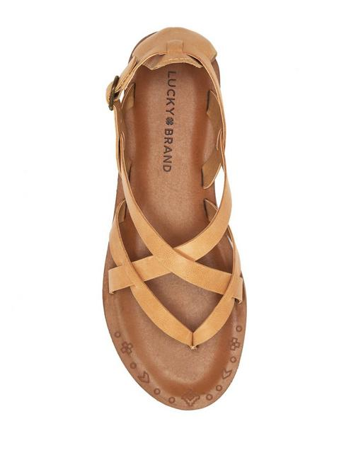 AINSLEY SANDAL, MEDIUM BEIGE