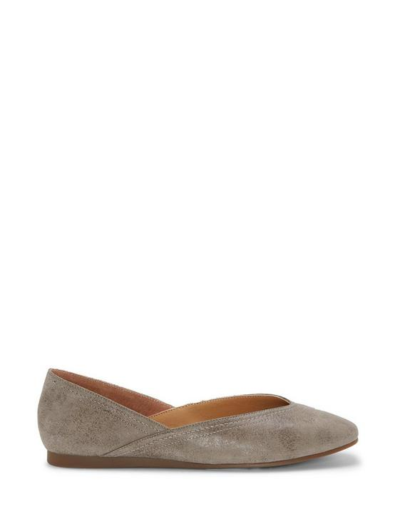 ALBA LEATHER FLAT, LIGHT GREY, productTileDesktop