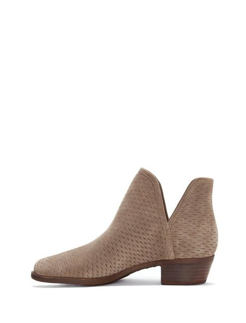 BALEY BOOTIE, OPEN BROWN/RUST