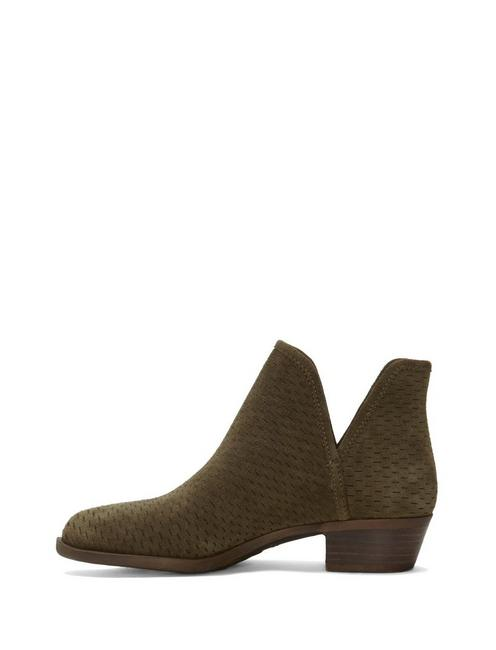 BALEY BOOTIE, DARK OLIVE