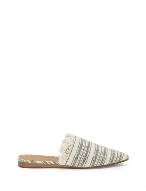 BAPSEE CANVAS FLAT SLIDES, FEATHER