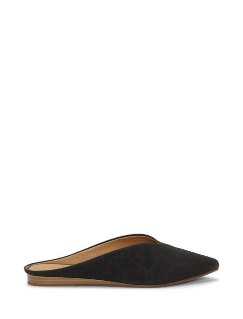 BARBORA SLIDE FLAT, BLACK