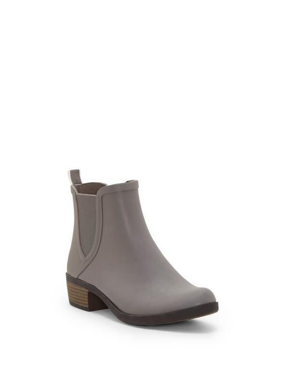 BASEL RAINBOOT BOOTIE, LIGHT GREY, productTileDesktop