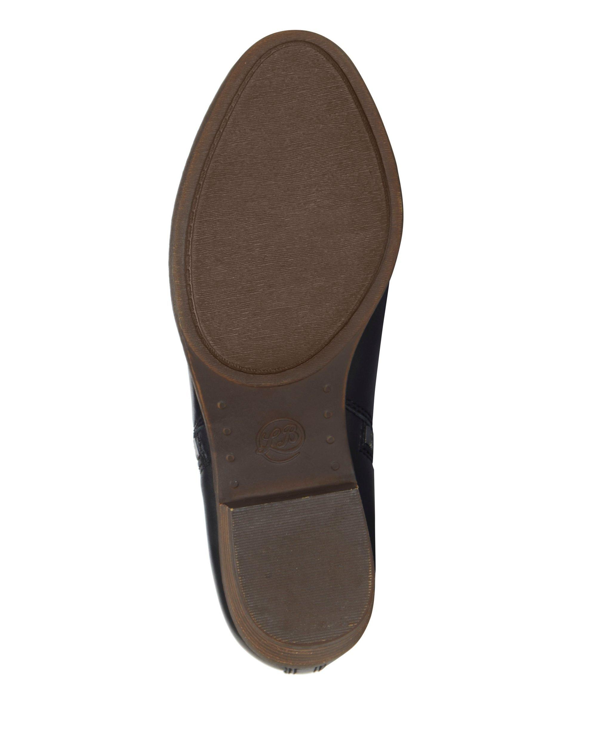 BASEL LEATHER FLAT BOOTIE, image 7