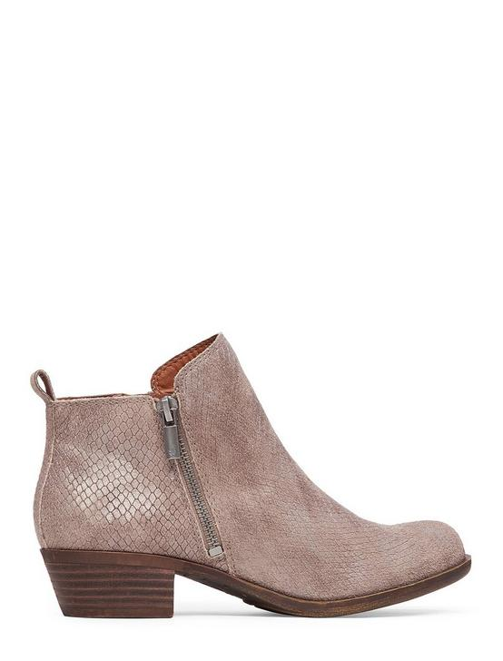 BASEL FLAT BOOTIE, MEDIUM DARK BEIGE, productTileDesktop