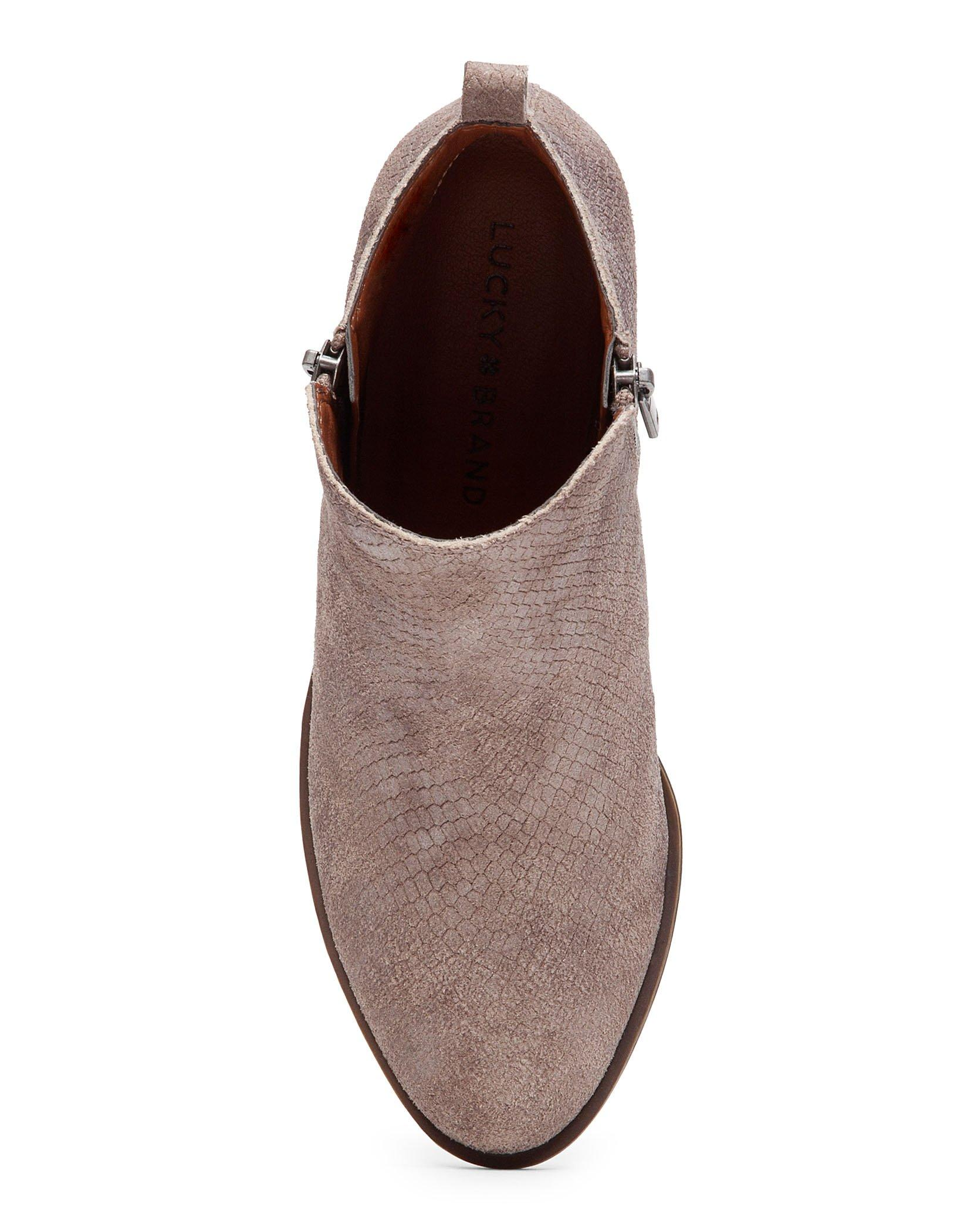 BASEL LEATHER FLAT BOOTIE, image 4