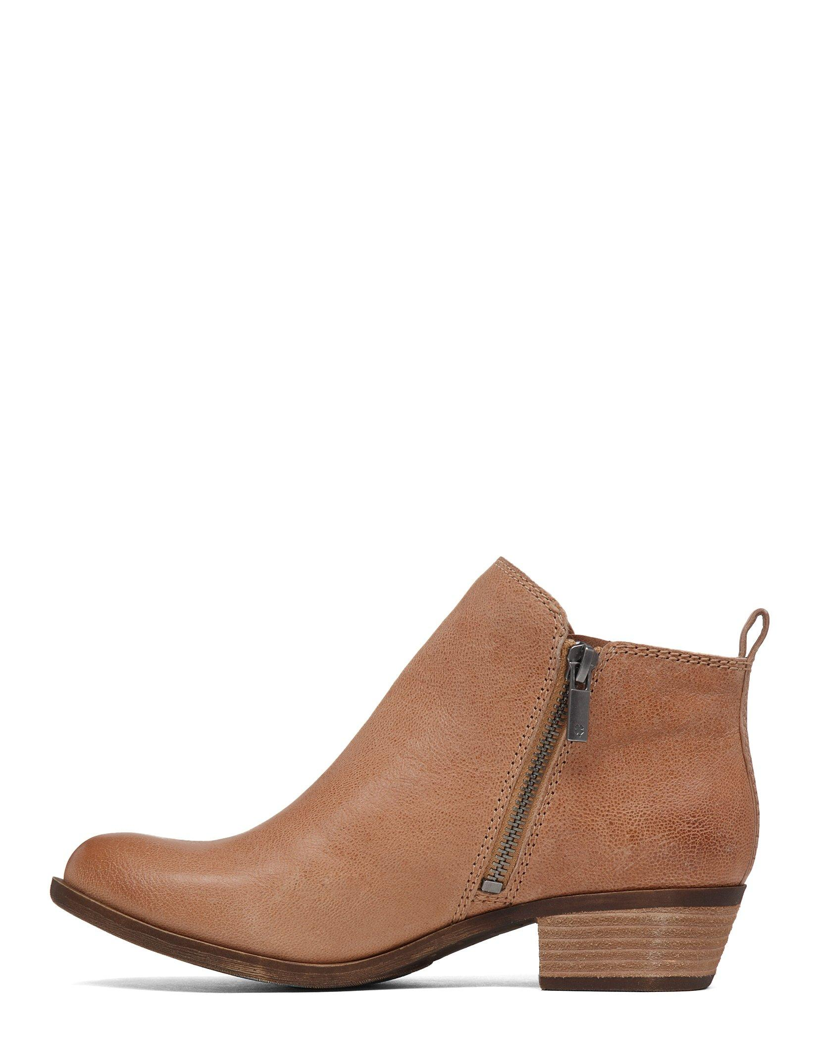 BASEL LEATHER FLAT BOOTIE, image 3