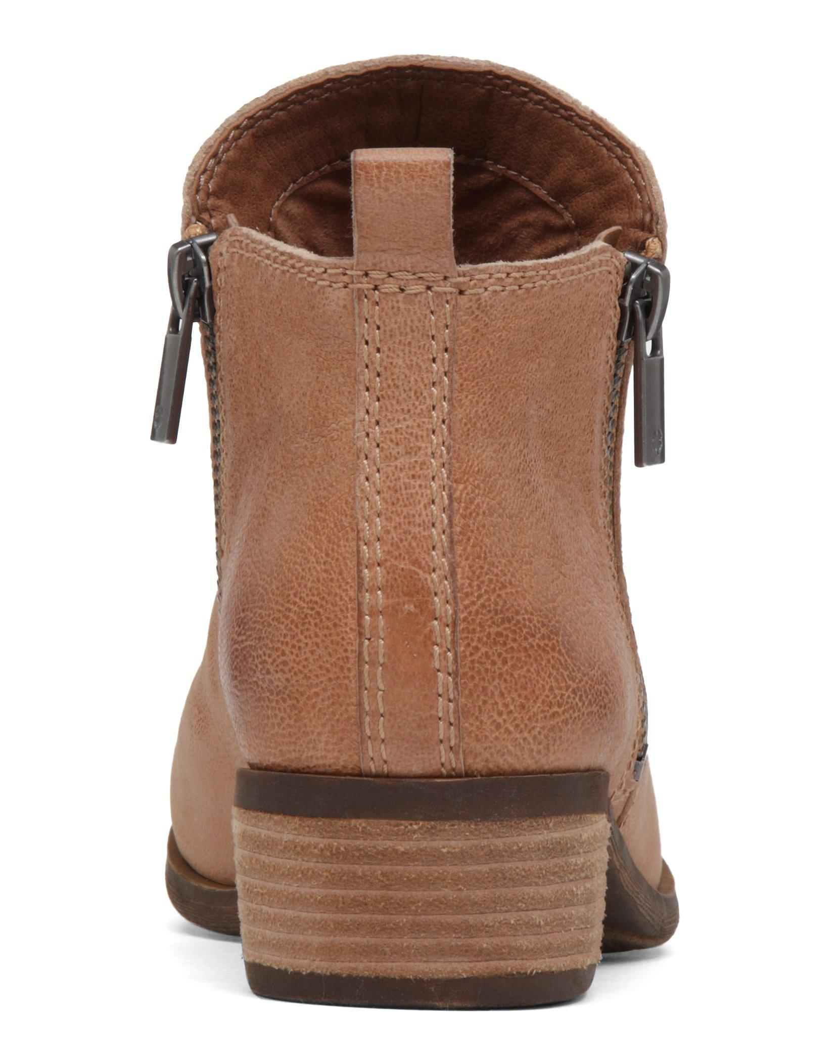 BASEL LEATHER FLAT BOOTIE, image 5