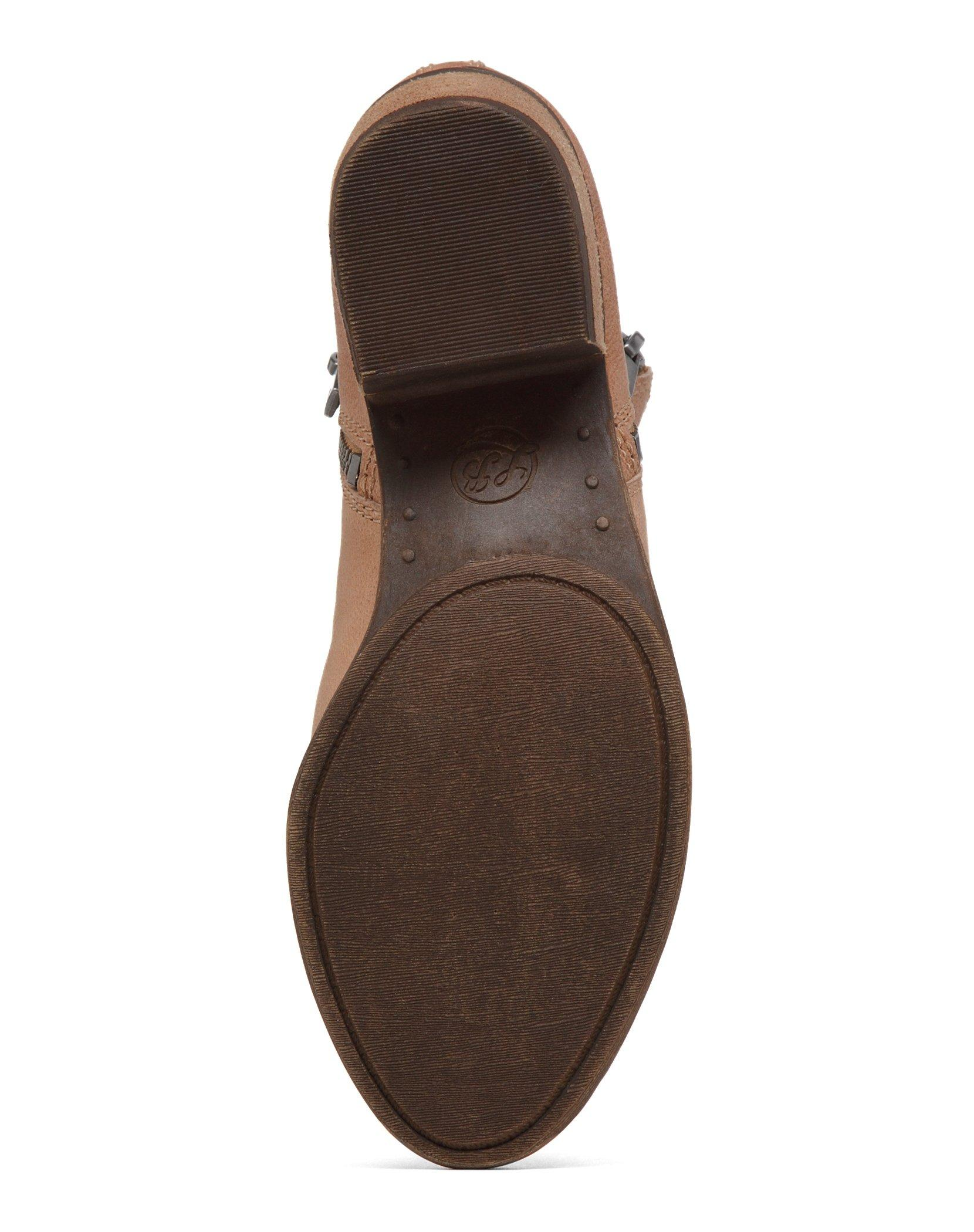 BASEL LEATHER FLAT BOOTIE, image 6