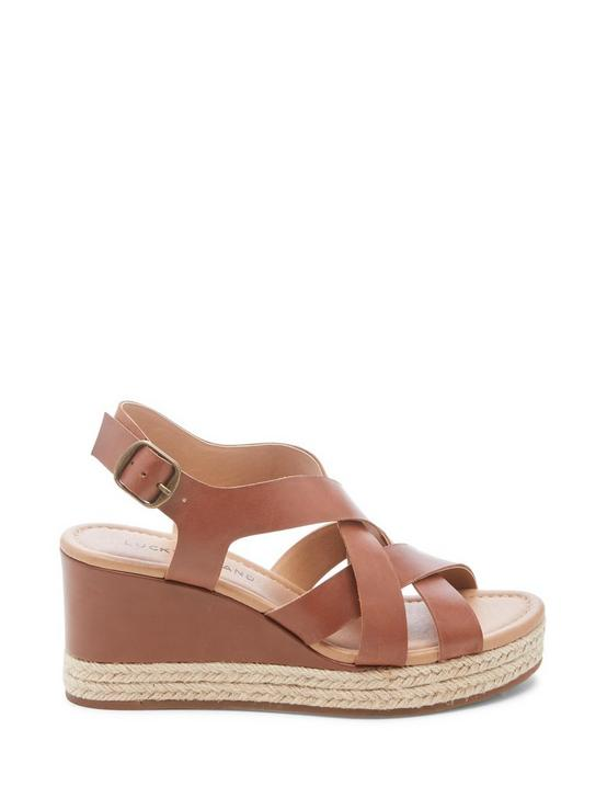 BAYMEER LEATHER ESPADRILLE WEDGE, LIGHT BROWN, productTileDesktop
