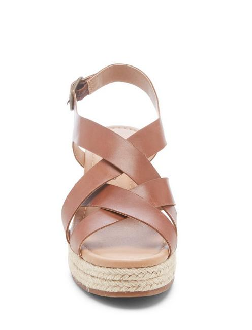 BAYMEER WEDGE, LIGHT BROWN