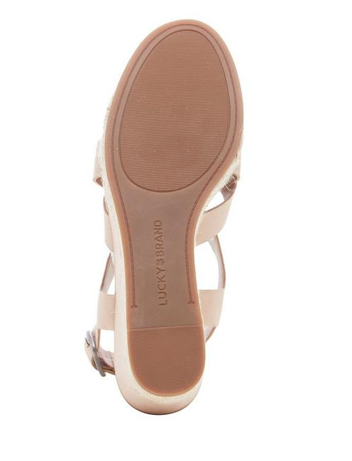 BAYMEER WEDGE, MEDIUM LIGHT BEIGE