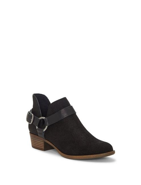 BERNAEH LEATHER BOOTIE, BLACK