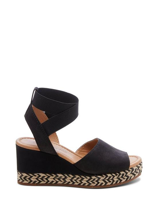BETTANIE WEDGE, BLACK, productTileDesktop