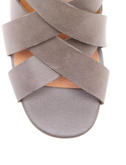 CABINO HEEL, LIGHT GREY