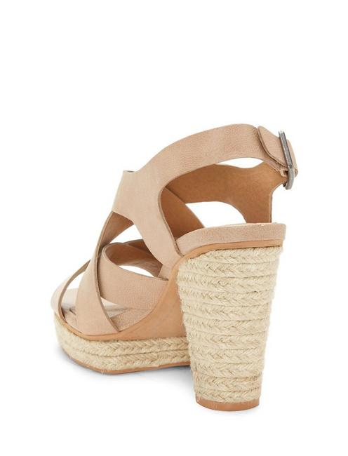 CABINO HEEL, MEDIUM DARK BEIGE