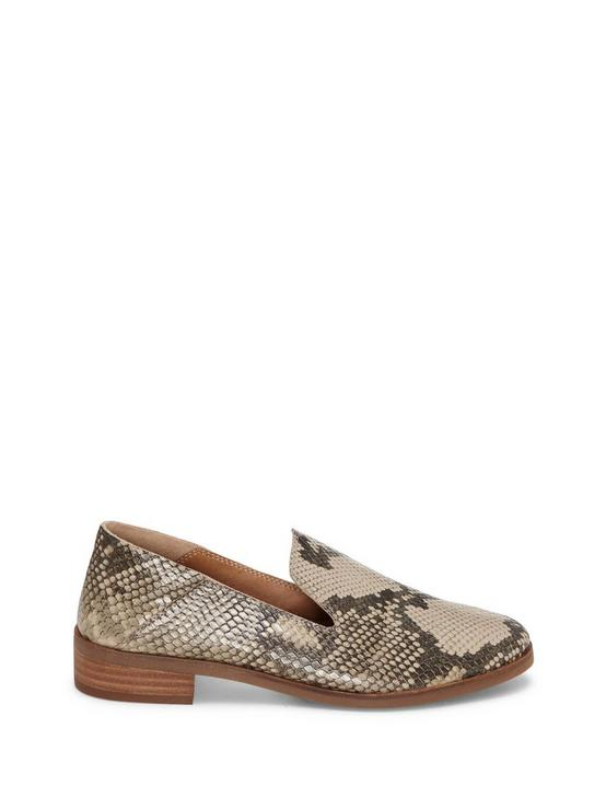 CAHILL LEATHER FLAT, LIGHT GREY, productTileDesktop