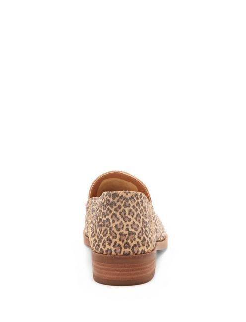 CAHILL LEATHER FLAT, LIGHT BROWN