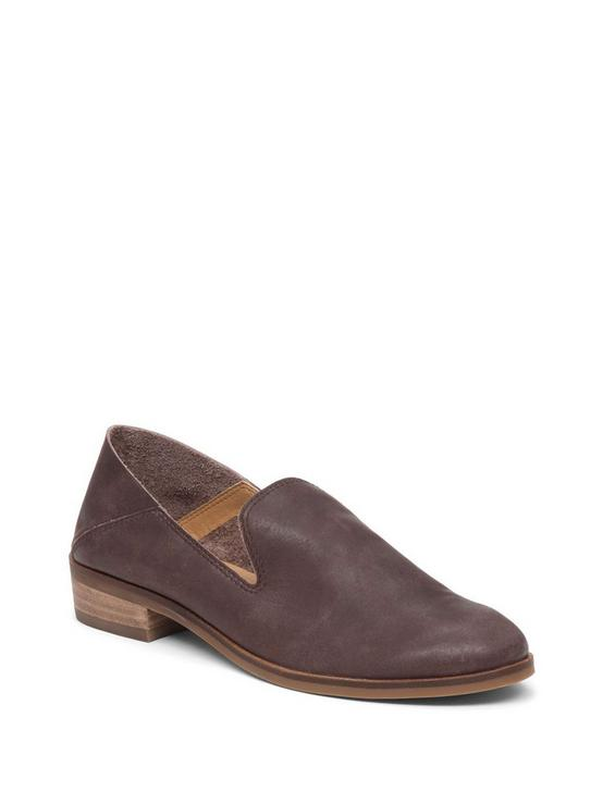 Cahill Leather Flat