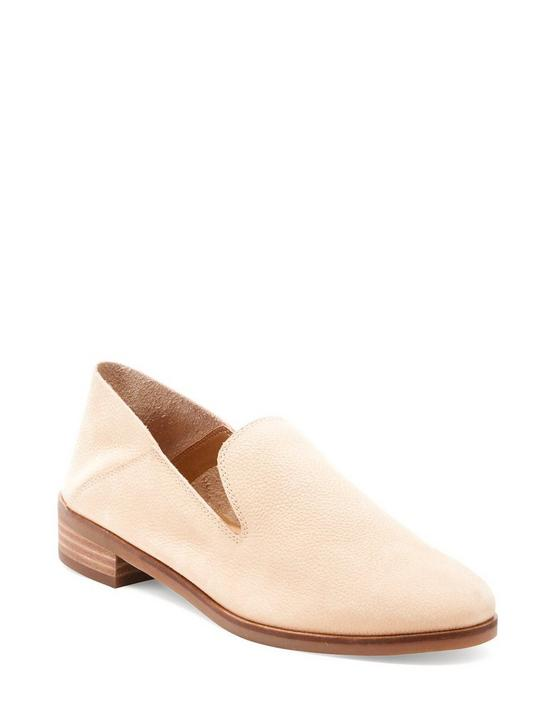CAHILL LEATHER FLAT, MEDIUM BEIGE, productTileDesktop