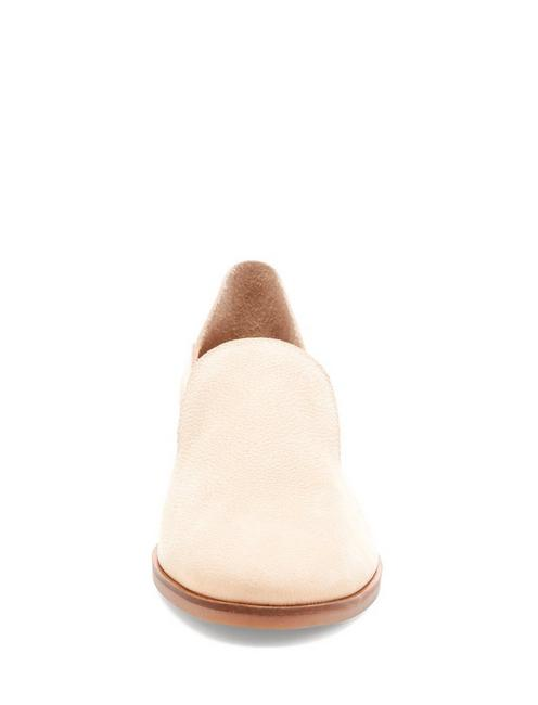 CAHILL LEATHER FLAT, MEDIUM BEIGE