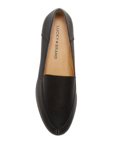 CAMDYN CALF HAIR FLAT, FEATHER