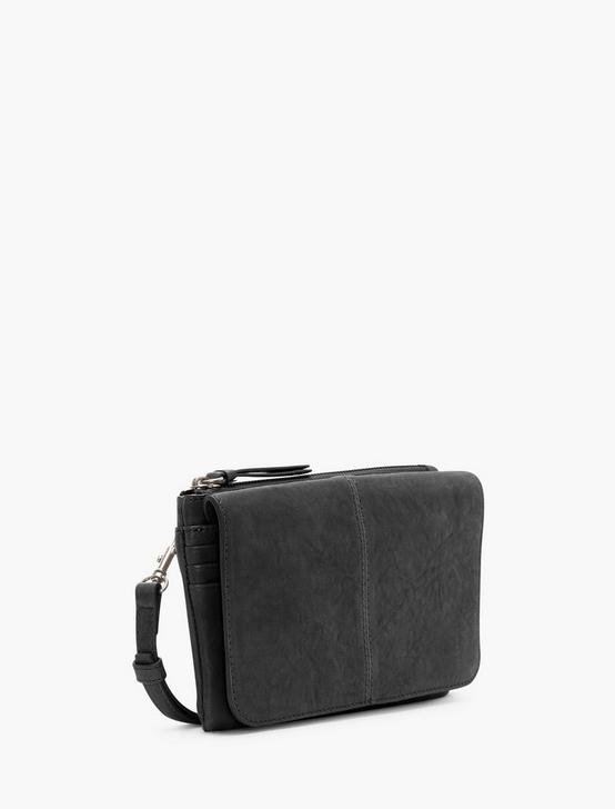 DEV CONVERTIBLE LEATHER WALLET, BLACK, productTileDesktop