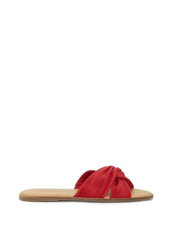DEZZEE SLIDE SANDAL, LIGHT RED, productTileDesktop