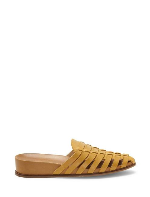 DOERID FLAT SLIDE, LIGHT YELLOW