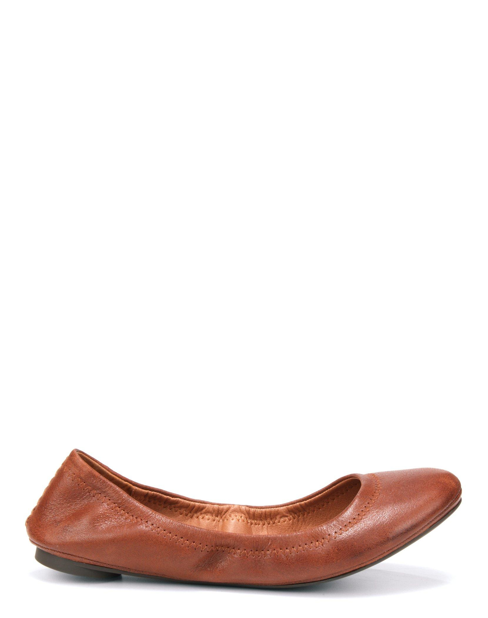 EMMIE LEATHER FLATS, image 2