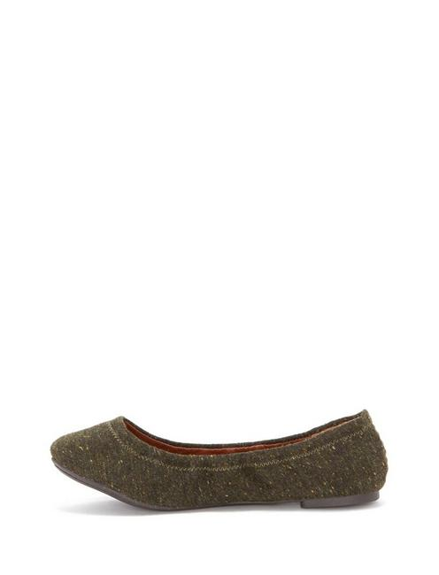 EMMIE FLATS, DARK GREEN