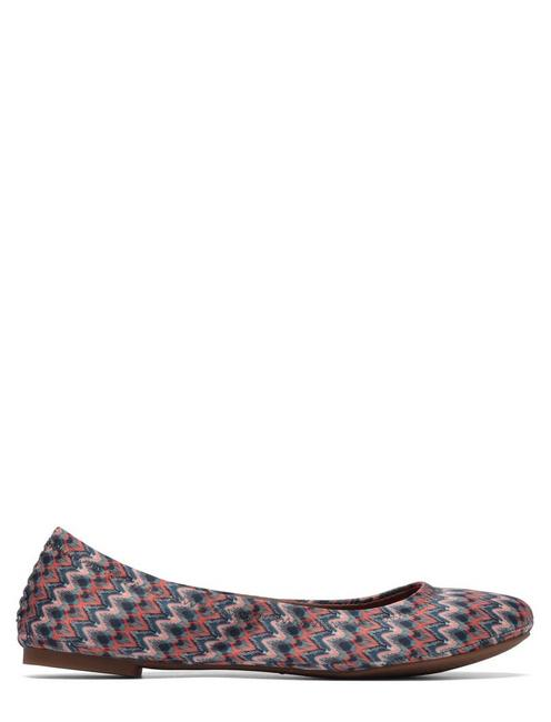 EMMIE LEATHER FLATS, MULTI