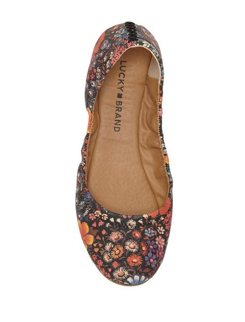 EMMIE LEATHER FLATS, BOOGIE