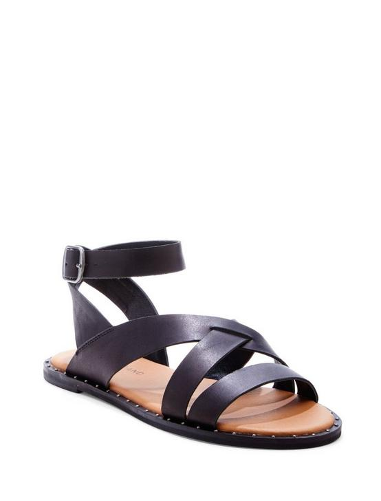 FANNIA SANDAL, BLACK, productTileDesktop