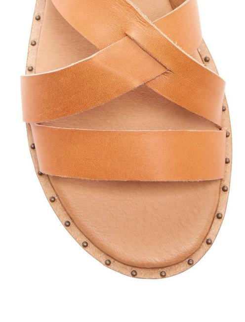 FANNIA SANDAL, LIGHT BROWN