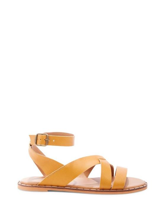 FANNIA SANDAL, DARK YELLOW, productTileDesktop