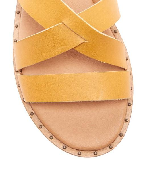 FANNIA SANDAL, DARK YELLOW