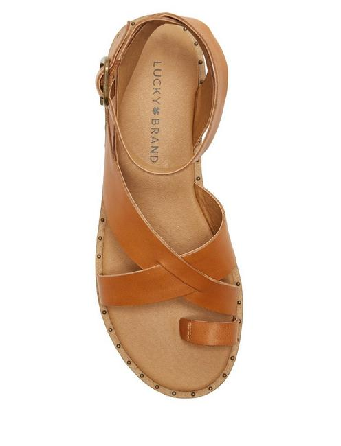 FARRAN SANDAL, LIGHT BROWN