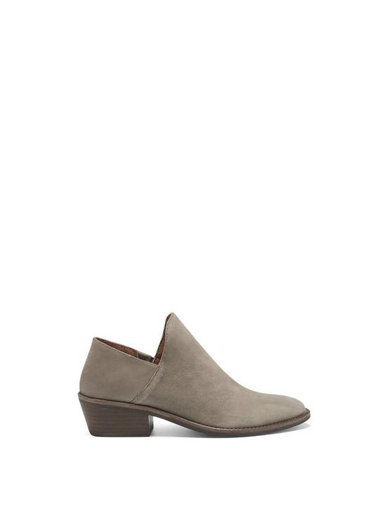 FAUSST BOOTIE, OPEN GREY, productTileDesktop