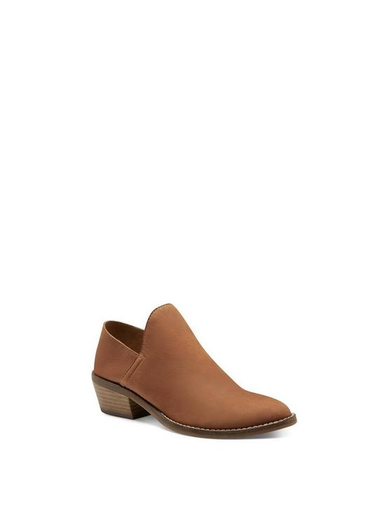 FAUSST BOOTIE, DARK BROWN, productTileDesktop