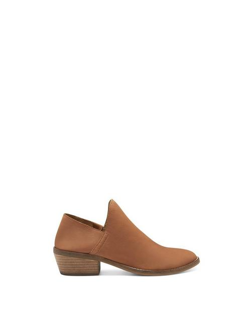 FAUSST BOOTIE, DARK BROWN
